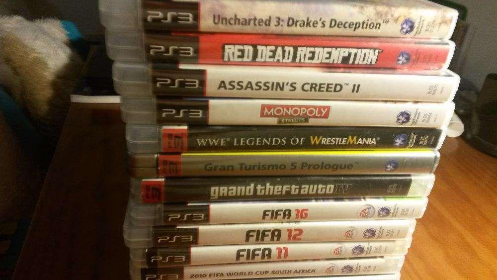 15 jogos para a playstation 3.