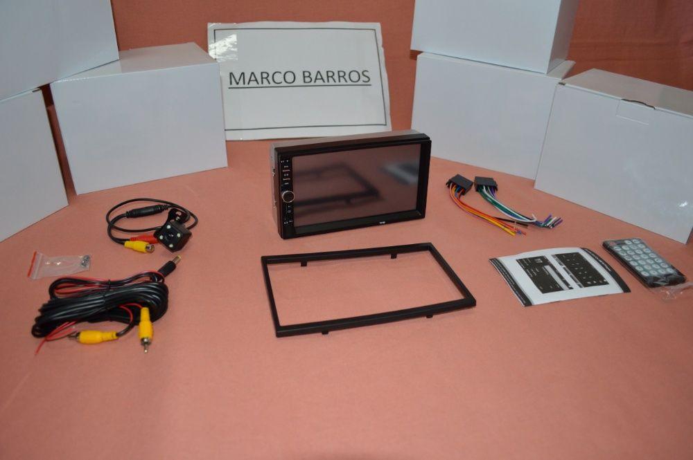 """Rádio 2DIN 7"""" Oferta Câmera + MOLDURA - Bluetooth USB Micro SD Paranhos - imagem 4"""