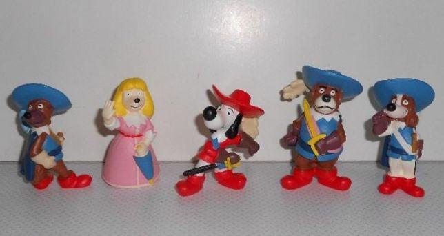 boneco figuras PVC Dartacão mosqueteiros Maia Borges