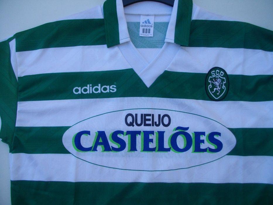 Camisola L do Sporting, Época 94/95,Oficial SCP