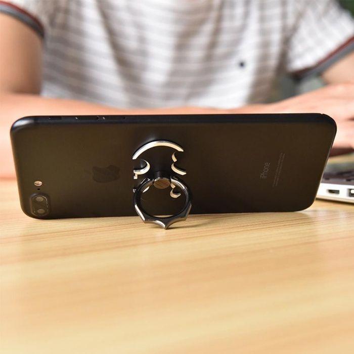 Suporte telemóveis Tablet Batman de anel de dedo