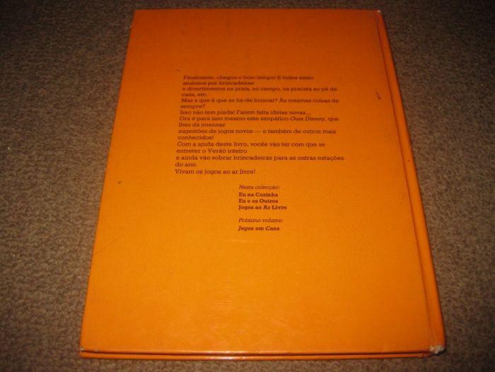 """Livro """"Jogos de Ar Livre"""" da Walt Disney Trofa - imagem 2"""