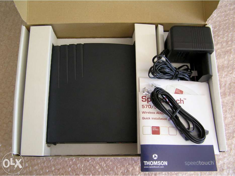 Modem Router Thomson SpeedTouch 570i