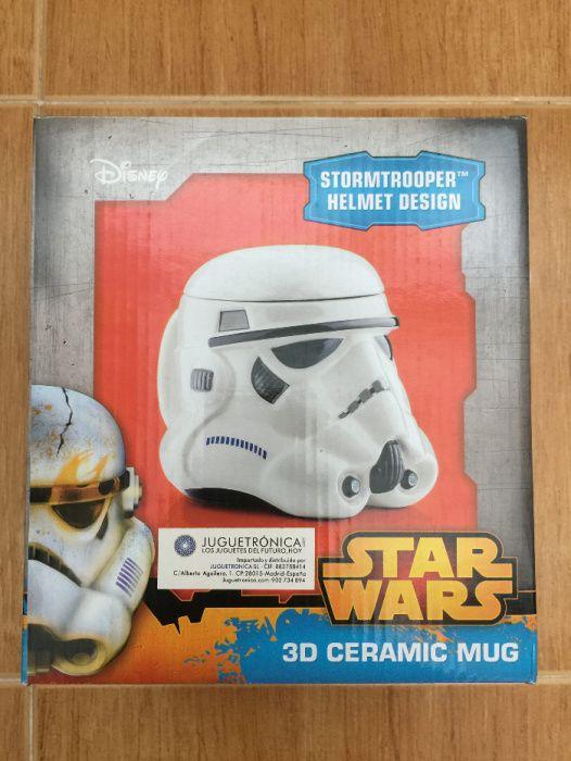 Canecas em porcelana Star Wars NOVAS