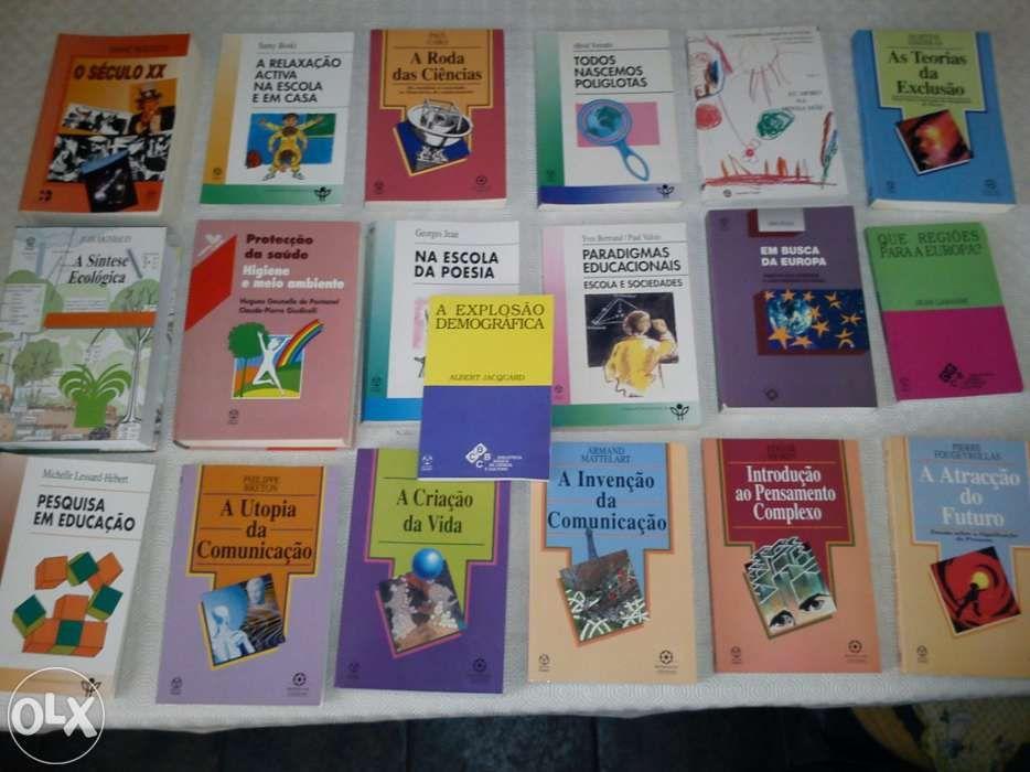 f090fa3c2ee Arquivo  Livros Editora Jean-Piaget Portimão • OLX Portugal