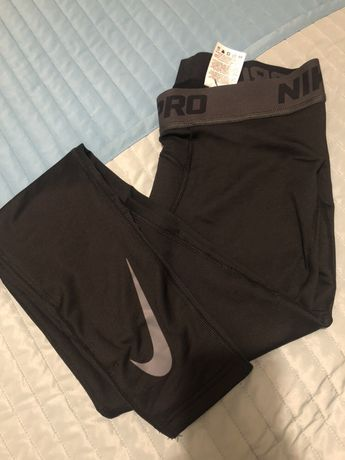 Nike pro therma dri fit legginsy męskie L Kielce • OLX.pl