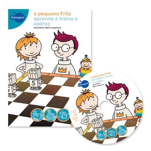 O pequeno Fritz. Aprende e treina o xadrez - NOVO