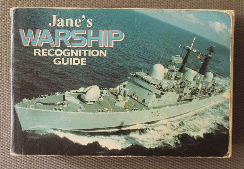 Livro Jane's Warships Recognition Guide de Keith Faulkner 1996