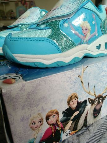 Sapatilhas Elsa do filme