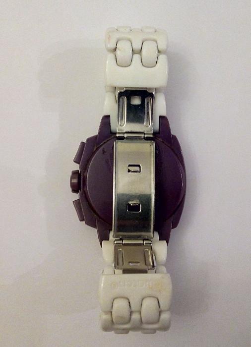 ae3b986f11a Relógio Swatch Chrono Plastic Purple Funk (SUIV400) Lisboa - imagem 8