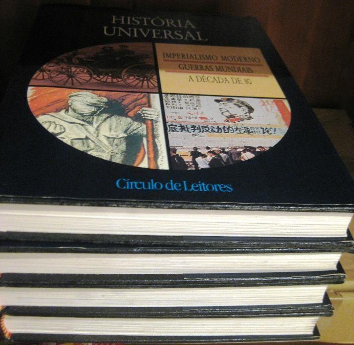 Conjunto de 5 Livros e Enciclopédias Circulo Leitores Juntos ou Separa