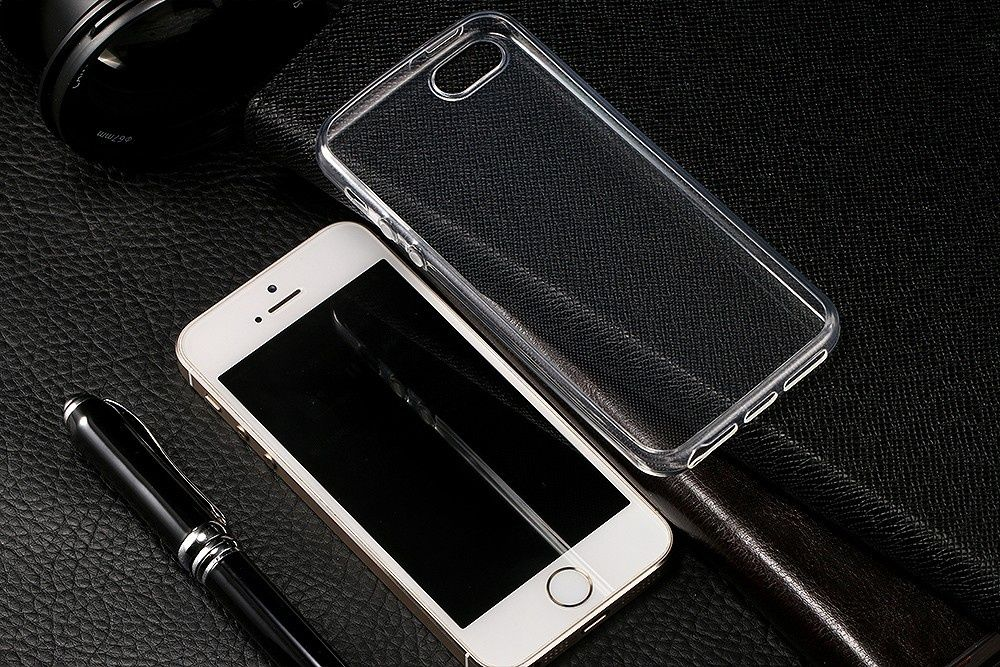 Capa de Silicone Transparente para Iphone 6 e 7