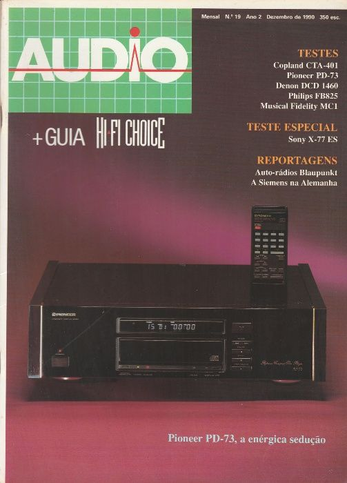 Revista Audio + Hi-Fi Choice Nº19