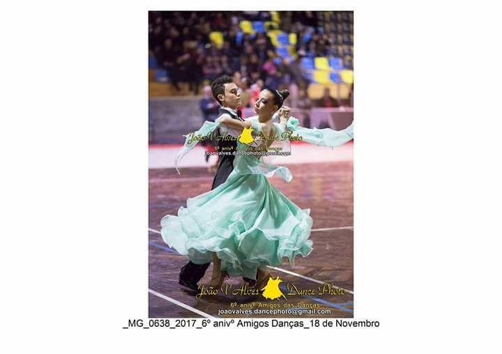 Vestido dança de salão classicas