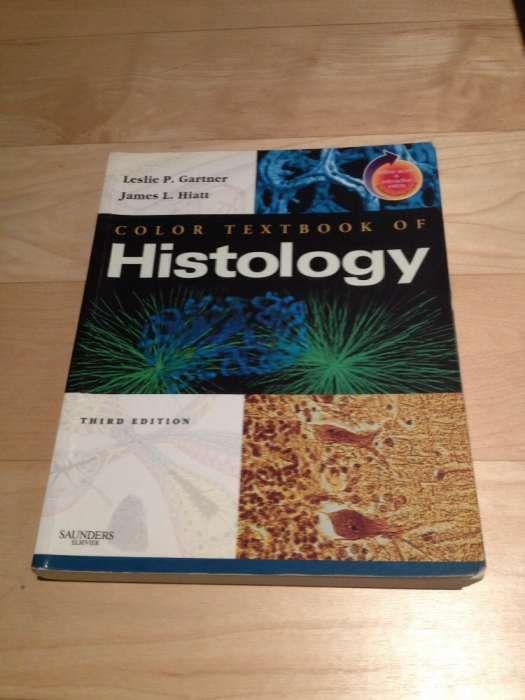 Livro Color Textbook of Histology - terceira edição - Gartner et al