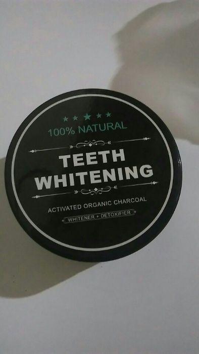 Branqueador Dentes - Pó de Carvão Activado
