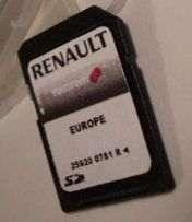 Europa Renault Carminat TomTom Fevereiro 2019 para Cartão GPS SD