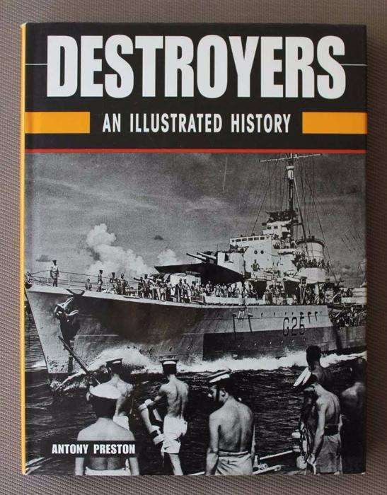 Livro Destroyers: An Illustrated History