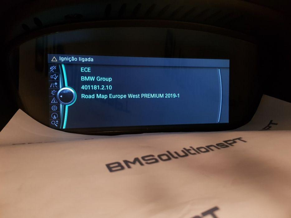 Mapas Actualização GPS CIC NBT 2019 -1 BMW Profissional Business Europ