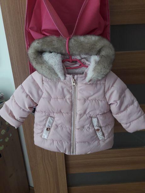 ff rozowa kurtka zimowa