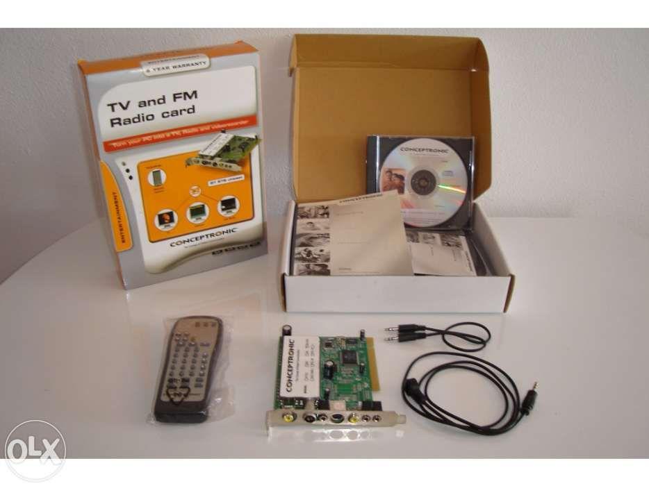 Placa receptora de TV e Rádio para PC