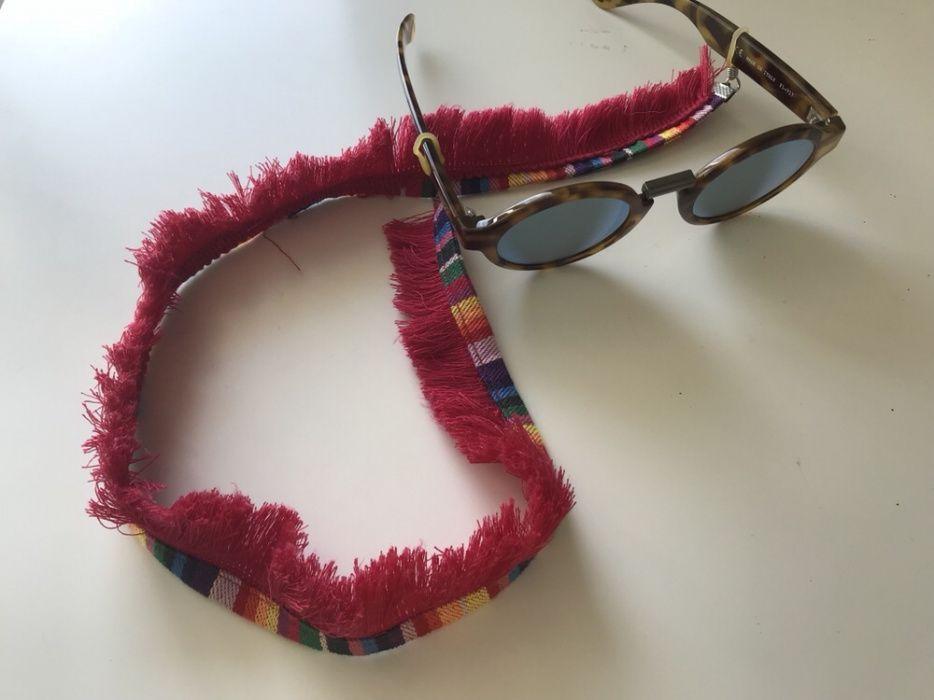 Fita para os óculos de sol