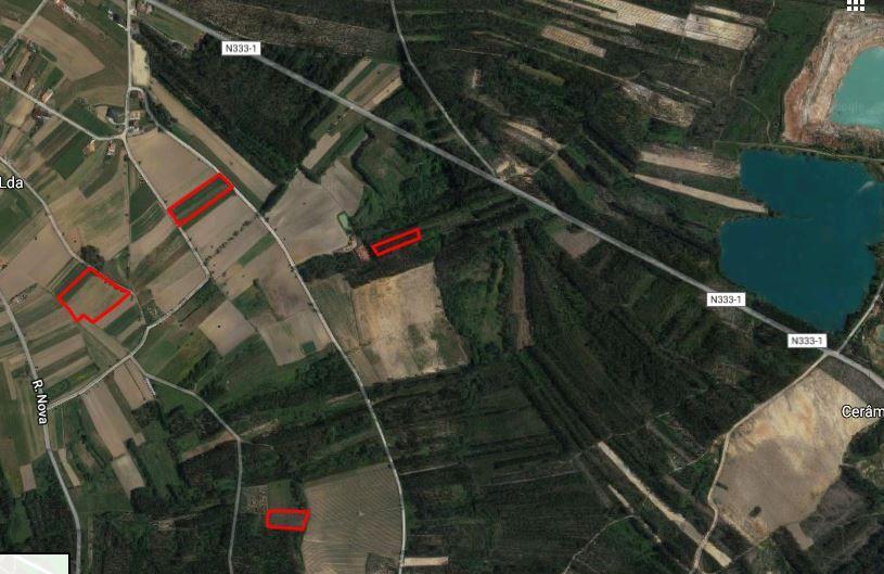 Levantamento de terrenos urbanos e agrícolas.