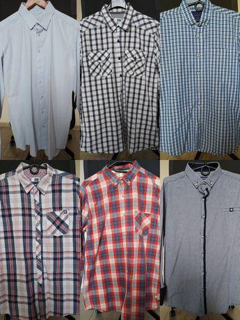 Koszule męskie L M koszula w kratę Poddębice • OLX.pl  aWtrd