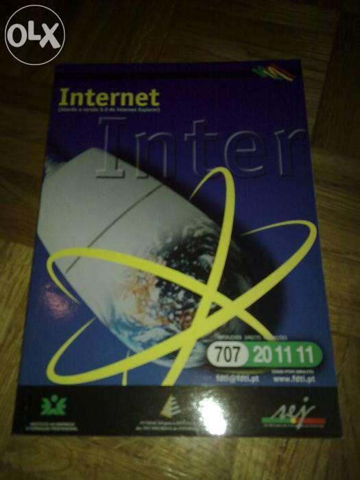 Livro, Internet ( Aborda a versão 5.0 do Internet Explor), novo...