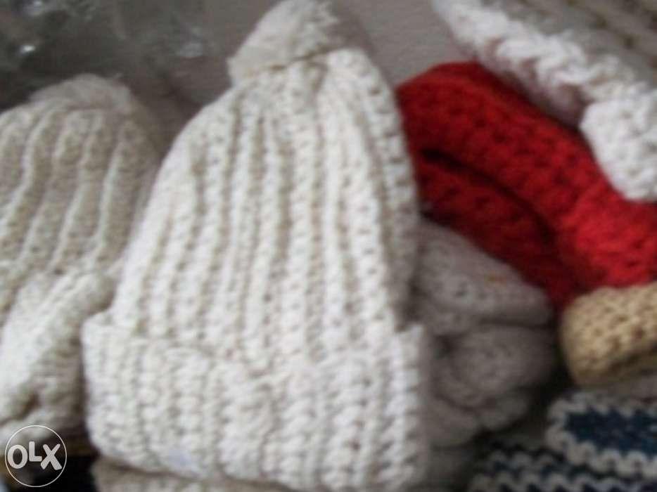 Gorros de lã