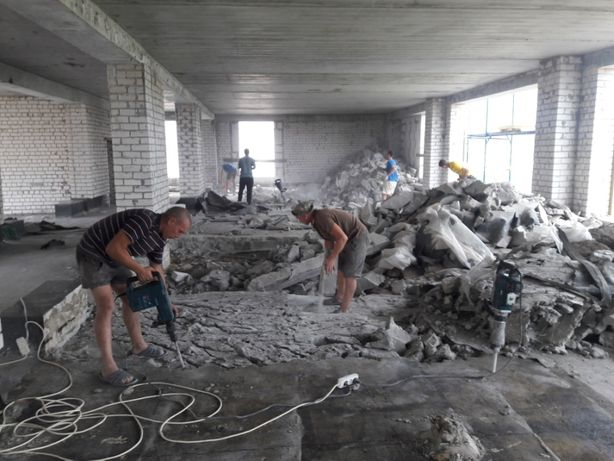 Услуги демонтаж бетона бетон hilst купить