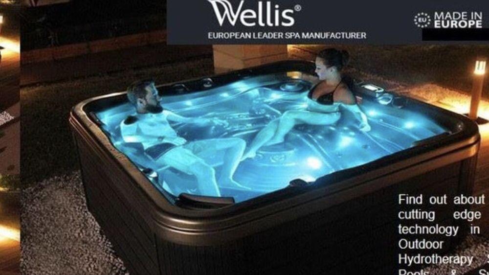 Spa com cromoterapia cascais piscinas e spas 2,18x2,18x0,90 palermo Alcabideche - imagem 4