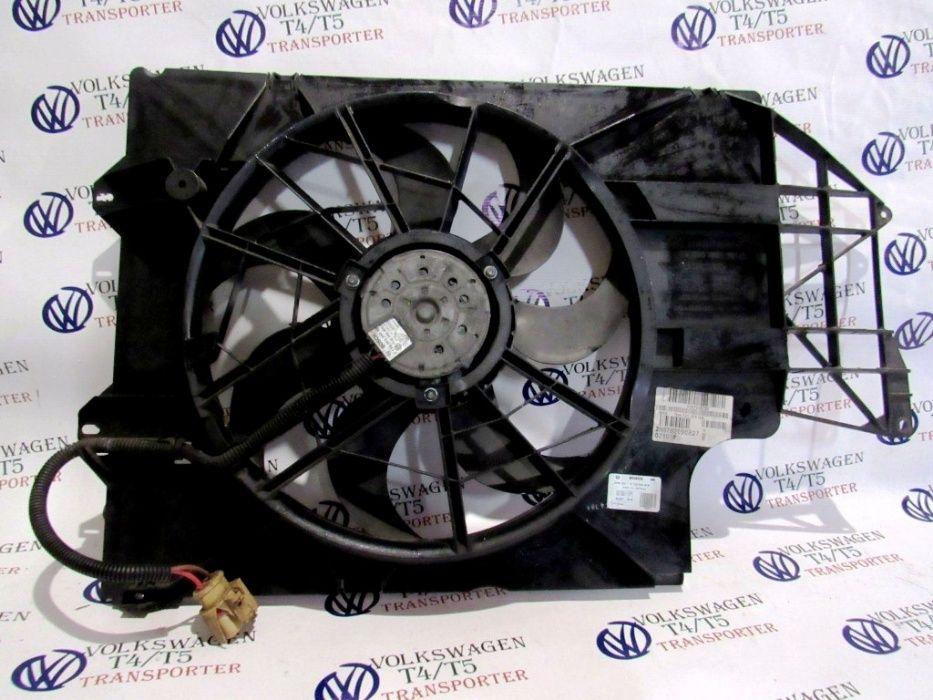Вентилятор охлаждения на фольксваген транспортер т5 как открыть капот транспортер т4