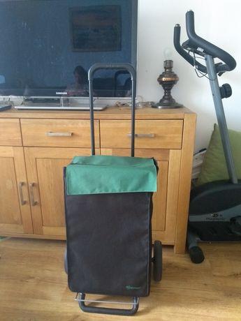 Torba na kółkach walizka wózek spożywczy odkładane wózek dla