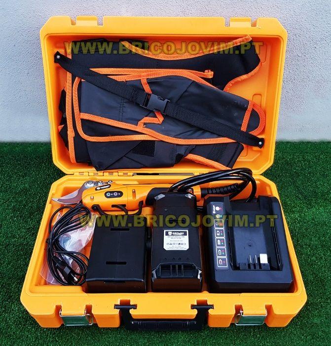Tesoura Poda Eléctrica Bateria - Bateria 4Ah/56V - Uso Intensivo NOVAS