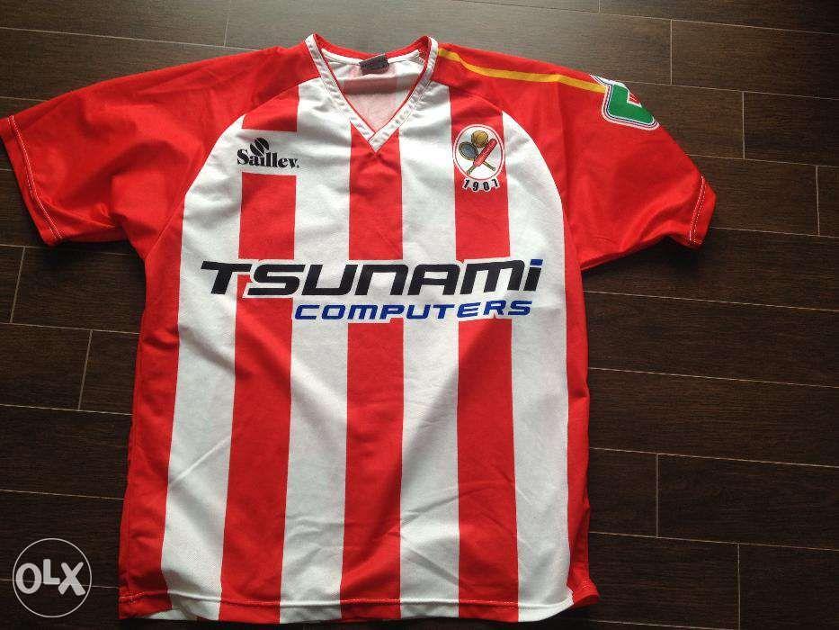 Camisola de Futebol do SC de Leixões - Portugal Antiga Rara 0696f03e7f66f