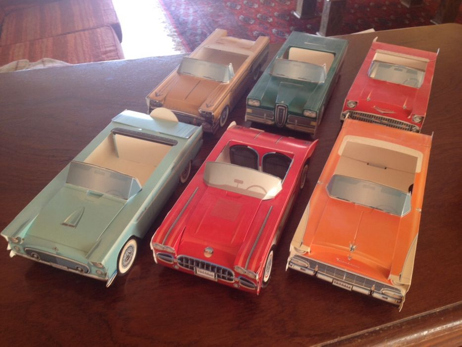 Carros americanos 6 clássicos cartonados