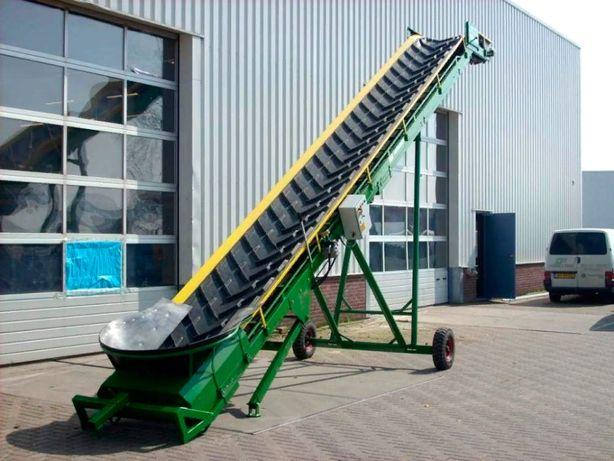 Наклонный шевронный транспортер мини транспортеры думперы цена