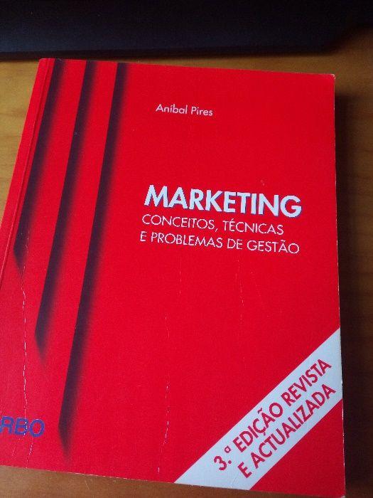 Marketing Conceitos, Técnicas e Problemas de gestão