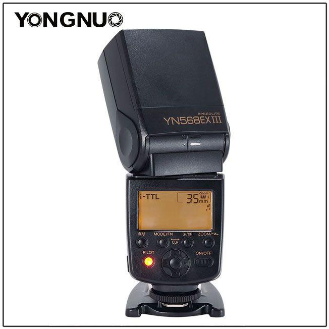 Flash Yongnuo YN568EXIII NIKON TTL HSS + Difusor luz ( YN 568 EX III )