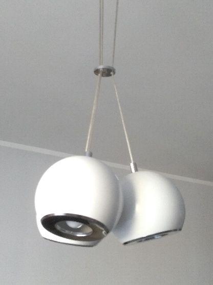 Lampa sufitowa 3 białe kule 200 PLN Poznań Grunwald • OLX.pl