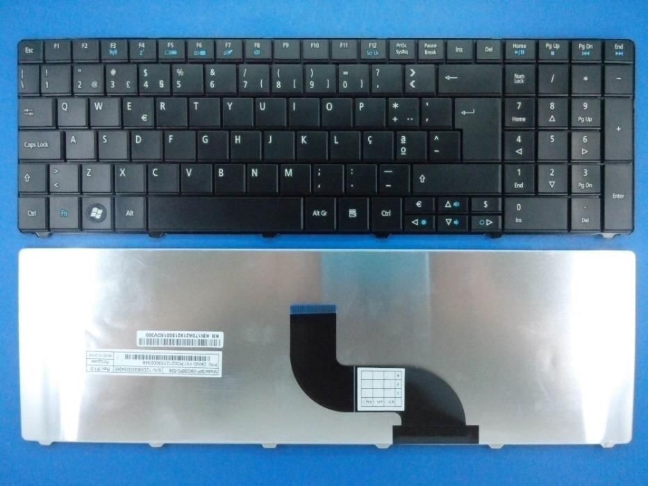 teclado Packard Bell Easynote P5WS6, PEW91, NEW90, NEW95, PEW92, entre