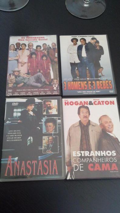 4 Dvd's originais novos