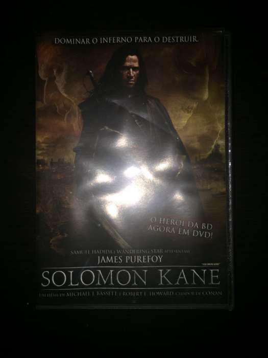 "DVD ""Solomon Kane"" (como novo)"
