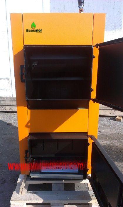 Caldeira Nova a Lenha 35KW Chapa de Aço. Sertã - imagem 1