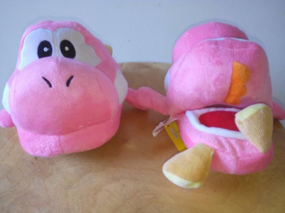 Chinelos criança Peluche Yoshi Nintendo Super Mario Brothers Braga - imagem 5