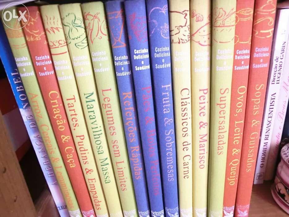 lote de Livros de cozinha