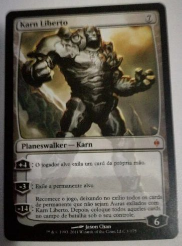 Magic the Gathering - 1x Karn Liberated (New Phyrexia)