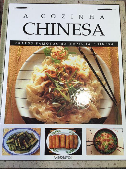 Livro de receitas de cozinha Chinesa
