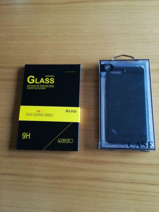 Capa silicone + película temperada Huawei y6